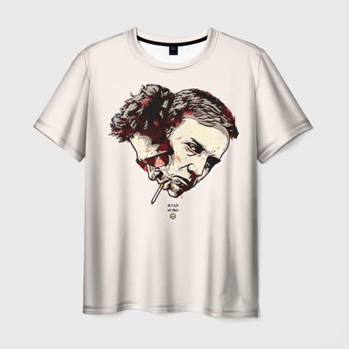 Мужская футболка 3D Бойцовский клуб