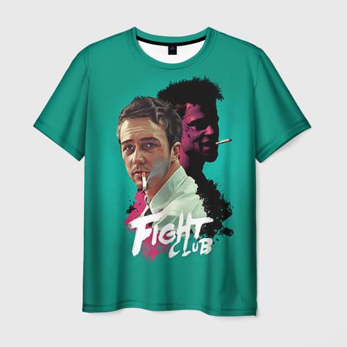 Мужская футболка 3D FIGHT CLUB