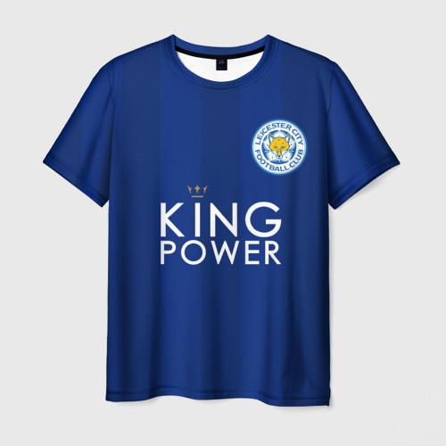 Мужская футболка 3D Лестер Сити Leicester Vardy 9