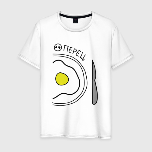 Мужская футболка хлопок Перец
