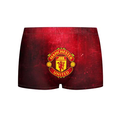 Мужские трусы 3D Манчестер Юнайтед