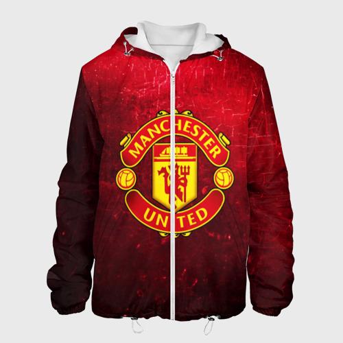 Мужская куртка 3D Манчестер Юнайтед