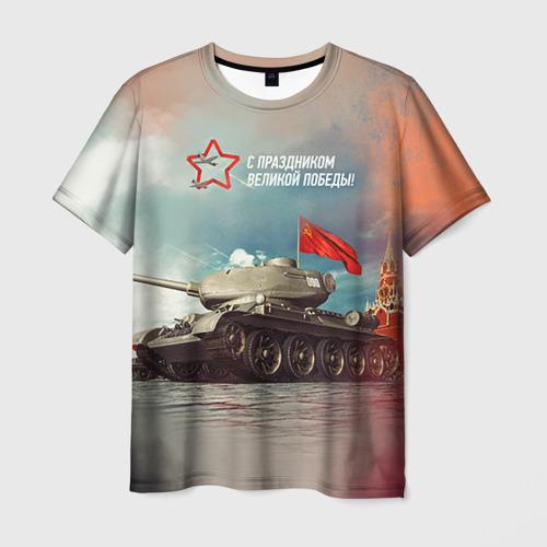 Мужская футболка 3D Великая победа