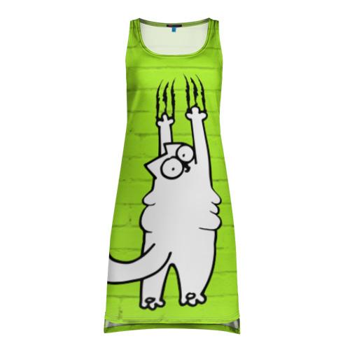 Платье-майка 3D Simon's cat 3