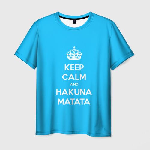 Мужская футболка 3D hakuna matata