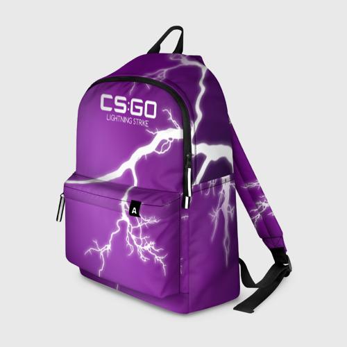 Рюкзак 3D cs:go - Lightning Strike Style (Удар молнии)