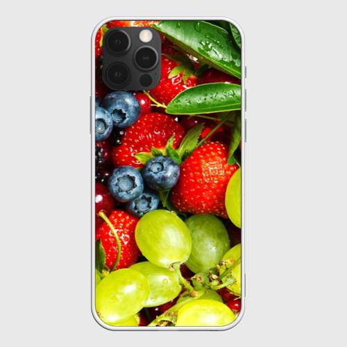Чехол для iPhone 12 Pro Max Вкусные ягоды