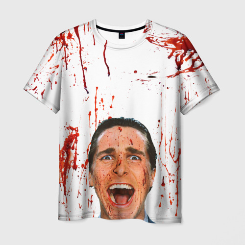 Мужская футболка 3D Американский психопат