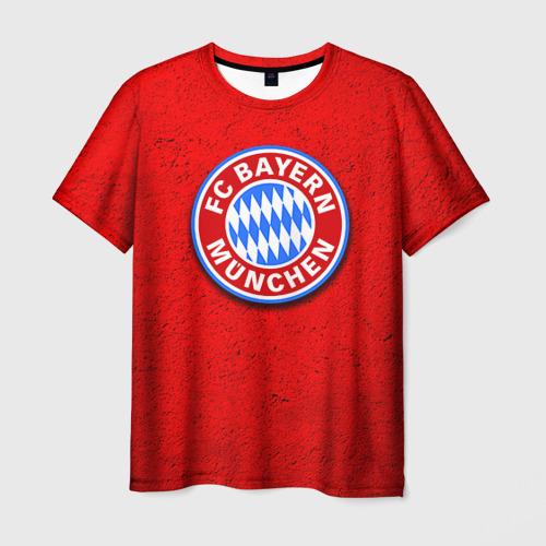 Мужская футболка 3D Бавария лого