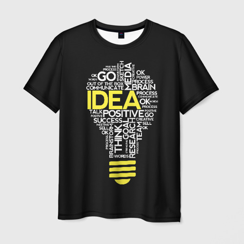 Мужская футболка 3D IDEA