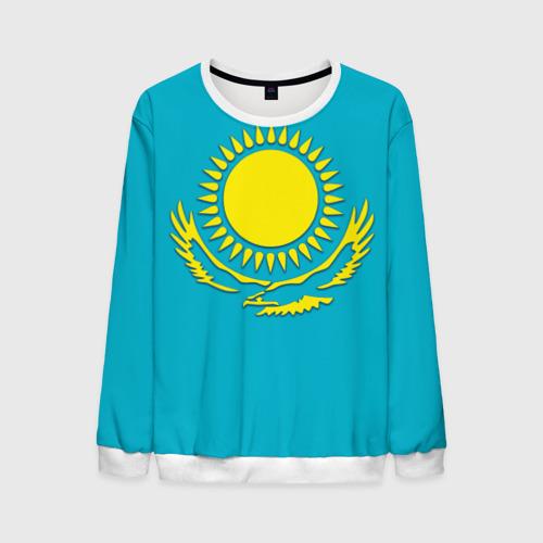 Мужской свитшот 3D Казахстан