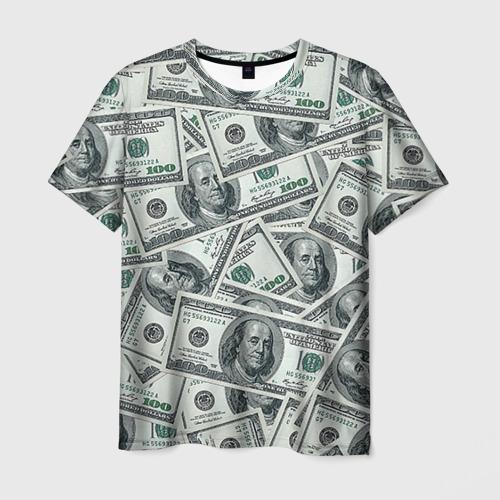Мужская футболка 3D Банкноты