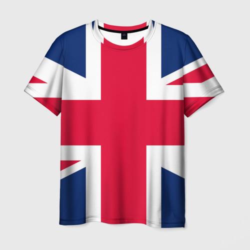 Мужская футболка 3D Великобритания