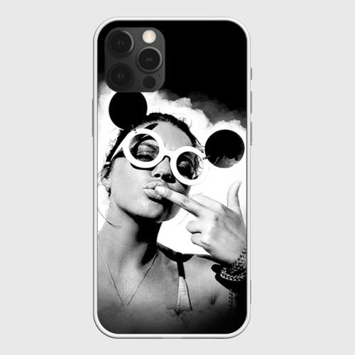 Чехол для iPhone 12 Pro Max Девушка в очках