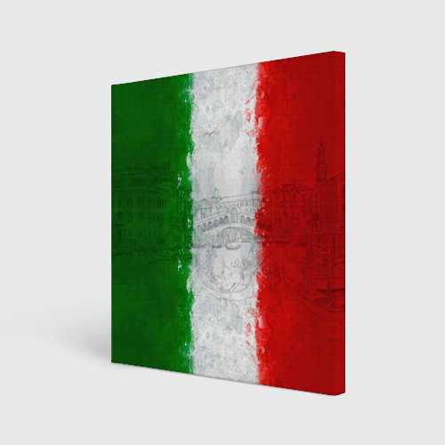 Холст квадратный Италия