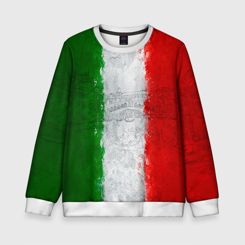Детский свитшот 3D Италия