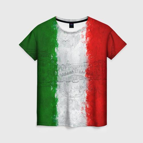 Женская футболка 3D Италия
