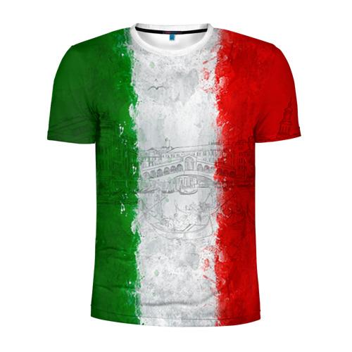 Мужская футболка 3D спортивная Италия