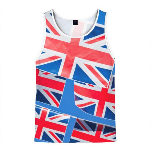 Мужская майка 3D Британские флаги