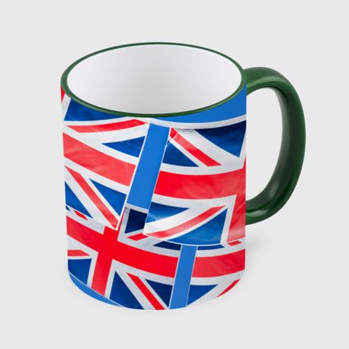 Кружка с полной запечаткой Британские флаги