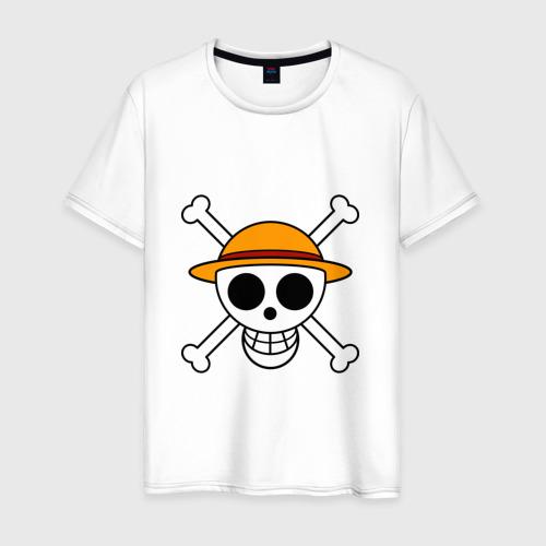 Мужская футболка хлопок Весёлый Роджер Мугивар