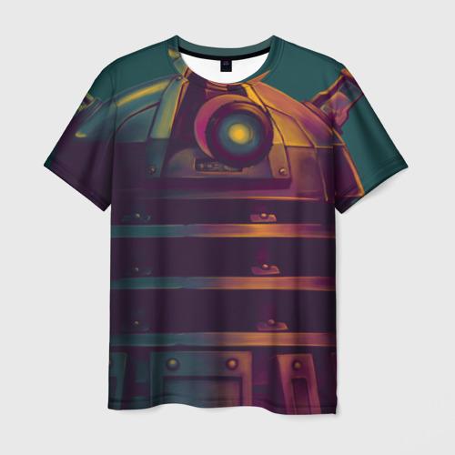 Мужская футболка 3D Далек