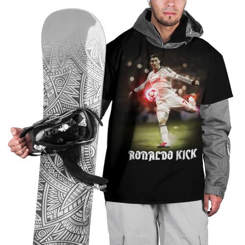 Накидка на куртку 3D Удар Роналдо