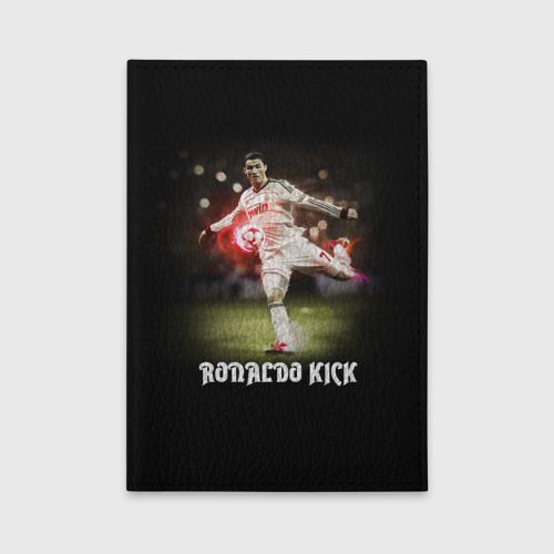Обложка для автодокументов Удар Роналдо