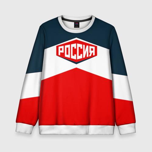 Детский свитшот 3D Россия СССР