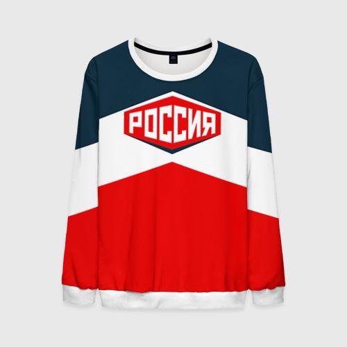 Мужской свитшот 3D Россия СССР
