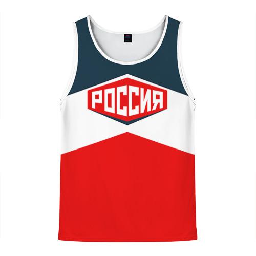 Мужская майка 3D Россия СССР