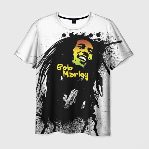 Мужская футболка 3D Bob Marley