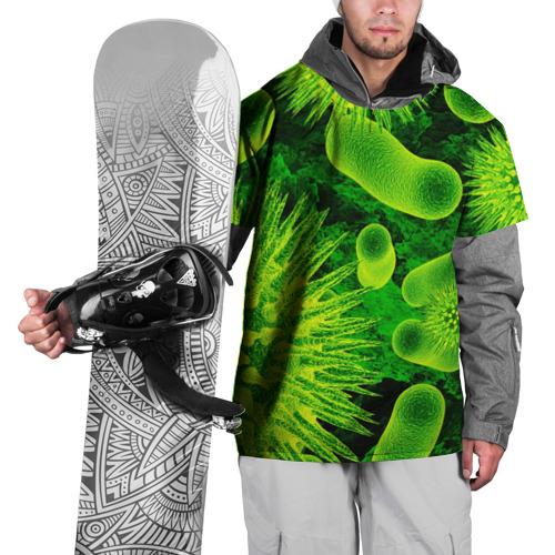 Накидка на куртку 3D Вирус