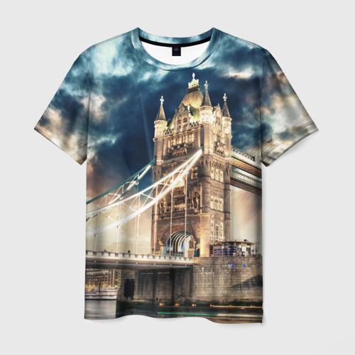 Мужская футболка 3D Англия