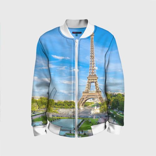 Детский бомбер 3D Париж