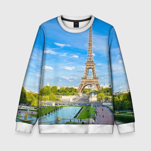 Детский свитшот 3D Париж