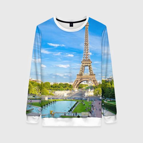Женский свитшот 3D Париж