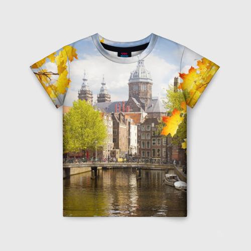 Детская футболка 3D Amsterdam