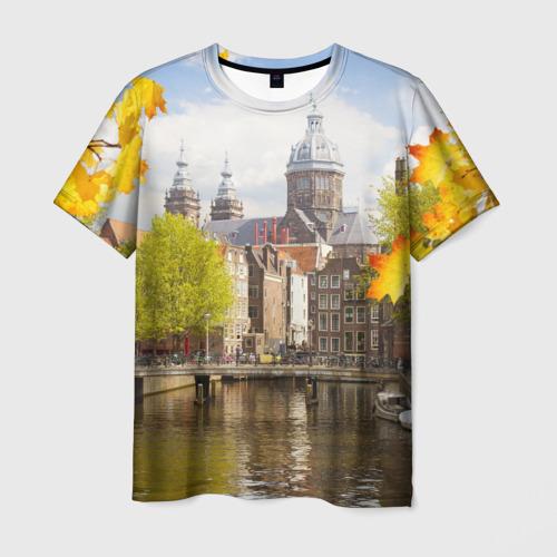Мужская футболка 3D Amsterdam