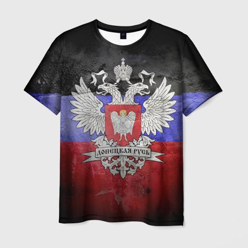 Мужская футболка 3D Донецкая Русь