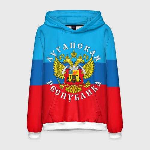 Мужская толстовка 3D Луганская республика