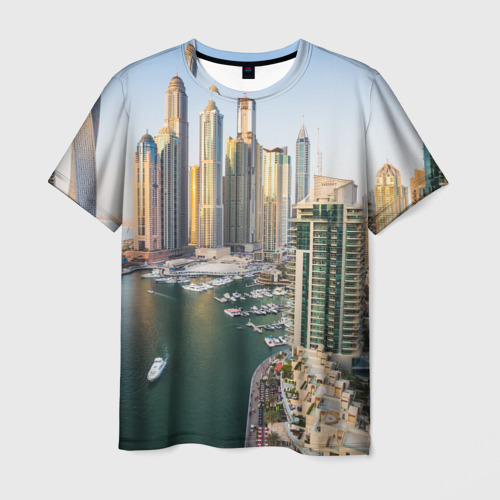 Мужская футболка 3D Dubai