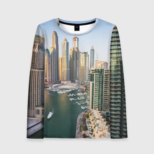 Женский лонгслив 3D Dubai