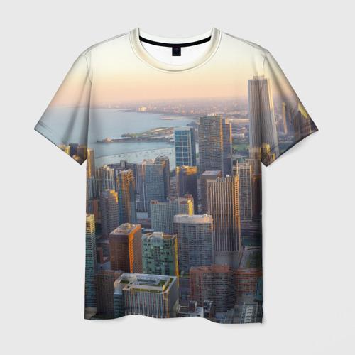Мужская футболка 3D Нью-Йорк