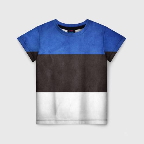 Детская футболка 3D Эстония