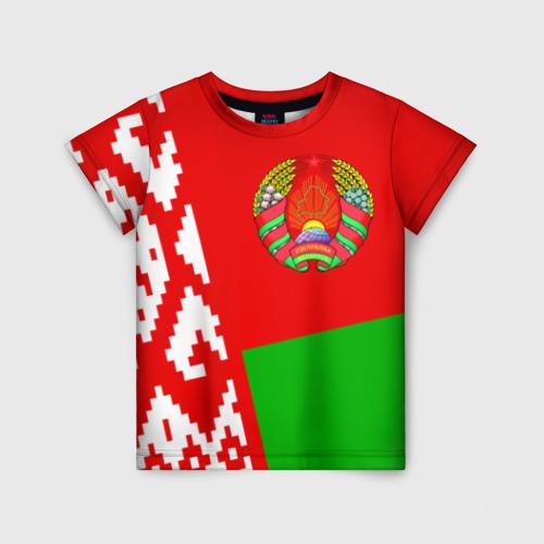 Детская футболка 3D Беларусь 2