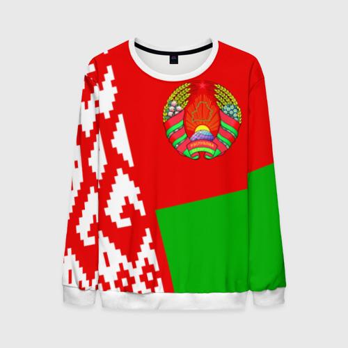 Мужской свитшот 3D Беларусь 2
