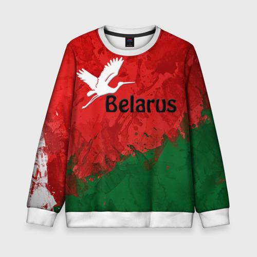 Детский свитшот 3D Belarus 2