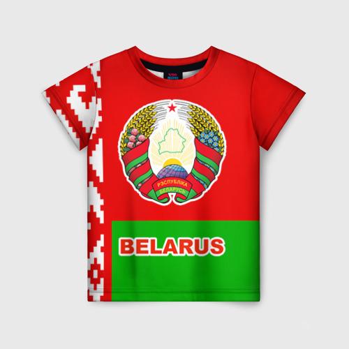 Детская футболка 3D Belarus 5