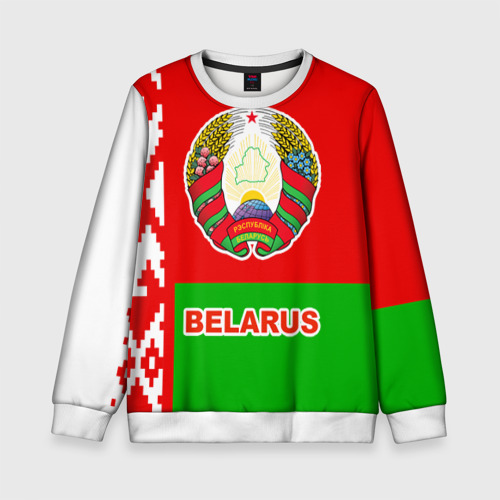 Детский свитшот 3D Belarus 5